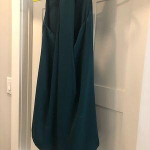 LOFT Dresses - Green, T back swing dress, LOFT
